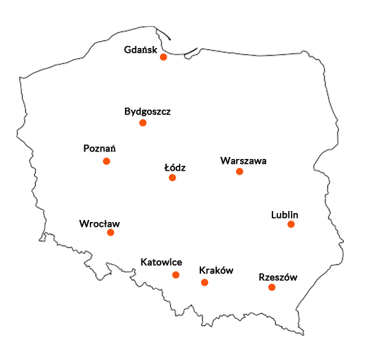 lokalizacje FDP 2018